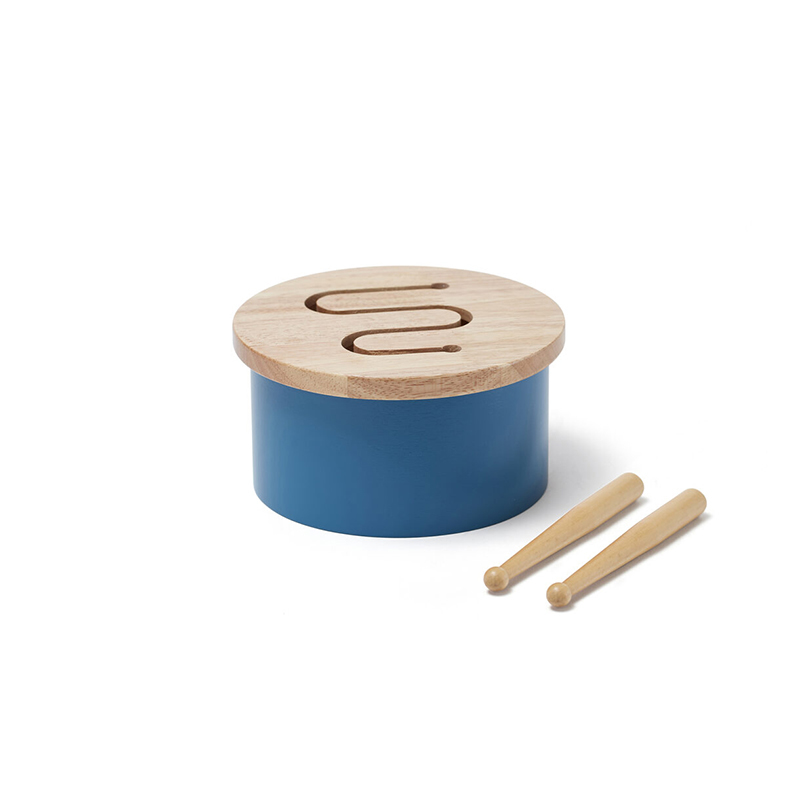 Immagine di Kids Concept® Mini tamburo Blue