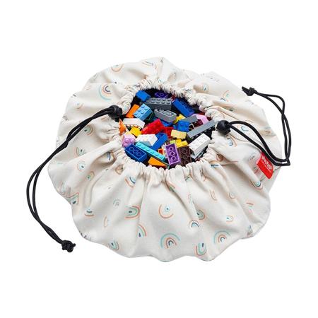 Immagine di Play&Go® Mini sacco portagiochi e Tappeto Rainbow