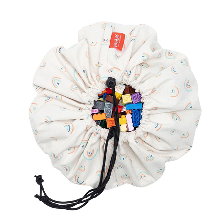 Play&Go® Mini sacco portagiochi e Tappeto Rainbow