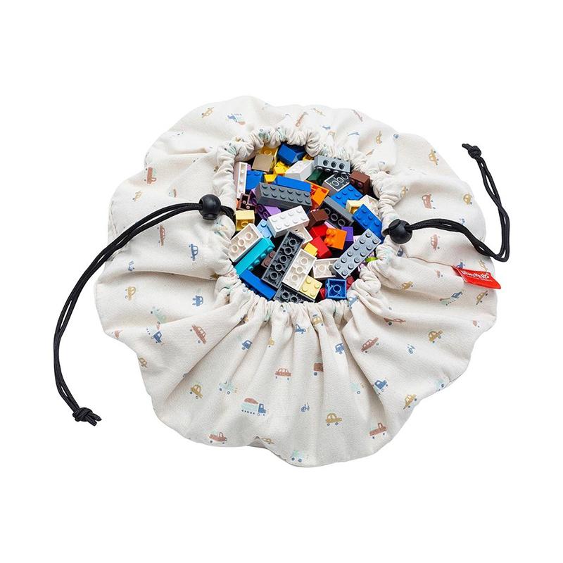 Immagine di Play&Go® Mini sacco portagiochi e Tappeto Cars
