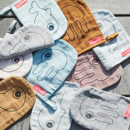 Done by Deer® Un set di due guanti per la cura Grey
