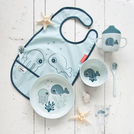 Done by Deer®  Yummy mini ciotola Sea friends Blue