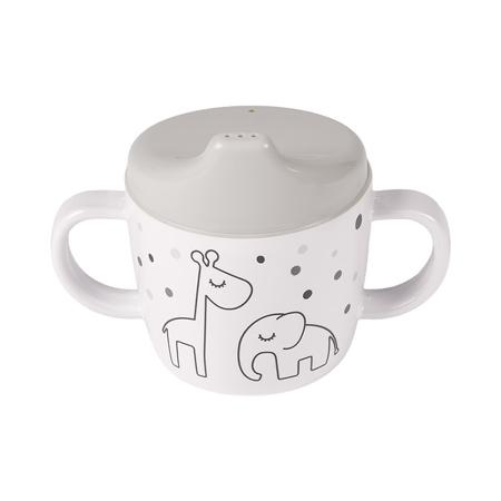 Immagine di Done by Deer® Una tazza per imparare a bere Dreamy dots Grey