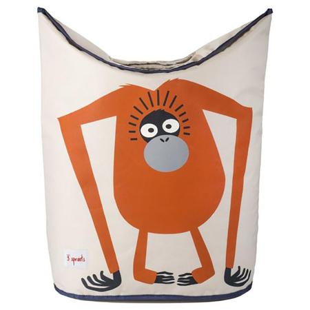 3Sprouts® Contenitore giocattoli e biancheria Orangutan