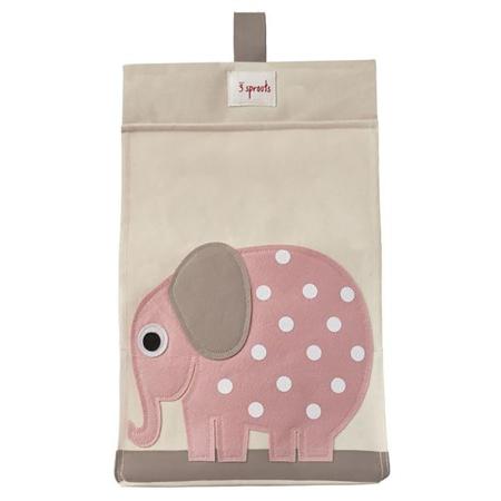 3Sprouts® Porta pannolini Elefante