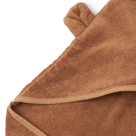 Konges Sløjd® Asciugamano con capuccio Almond 80x80