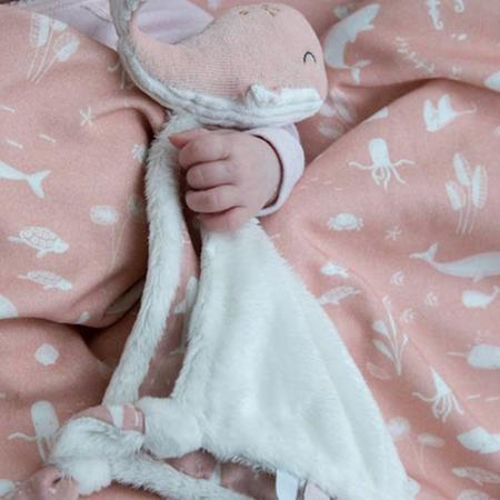 Immagine di Little Dutch®Doudou balena Ocean Pink