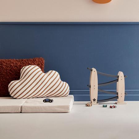 Immagine di Kids Concept® Pista per macchine Natural/Grey Aiden