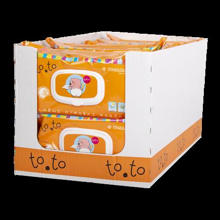 Immagine di Tosama®  Salviette umidificate con chiusura to.to Sensitive 4x64 pezzi