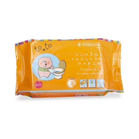 Immagine di Tosama®  Carta igienica umidificata to.to 60 pezzi