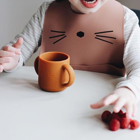 Immagine di Liewood® 2 tazzine in silicone per imparare a bere Gene Cat Rose