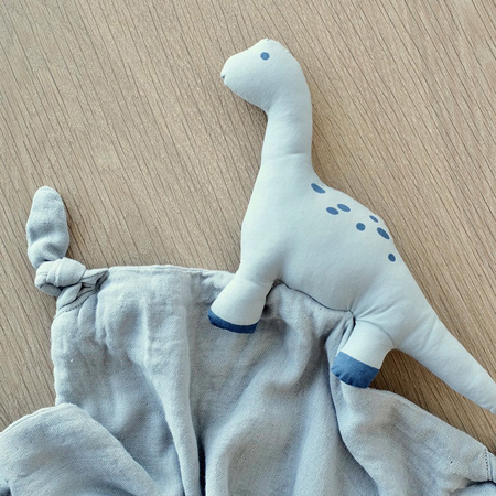 Liewood® Doudou Agnete Dino Dove Blue 35x35