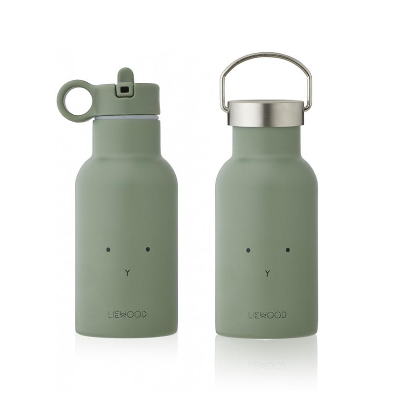 Immagine di Liewood® Bottiglia in acciaio inossidabile Anker Rabbit Faune Green 350ml