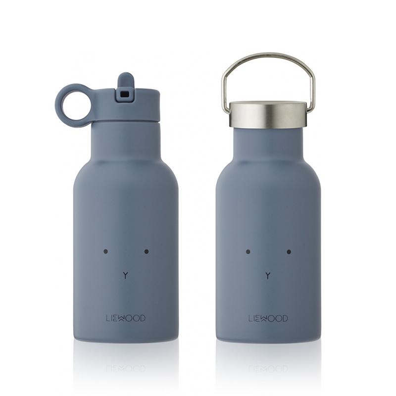 Immagine di Liewood® Bottiglia in acciaio inossidabile Anker Rabbit Blue Wave 350ml