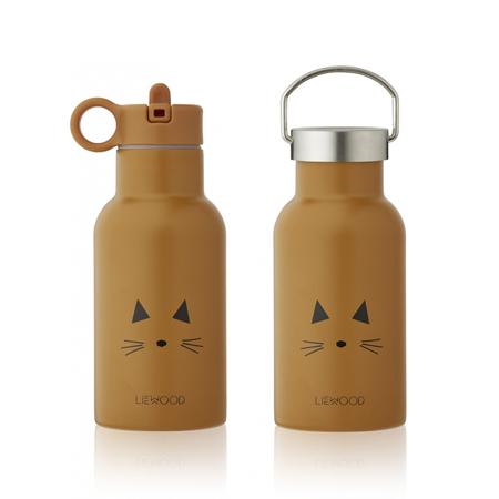 Immagine di Liewood® Bottiglia in acciaio inossidabile Anker Cat Mustard  350ml