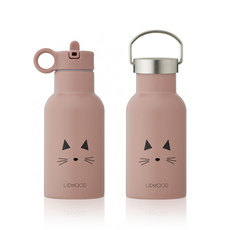 Immagine di Liewood® Bottiglia in acciaio inossidabile Anker Cat Rose 350ml