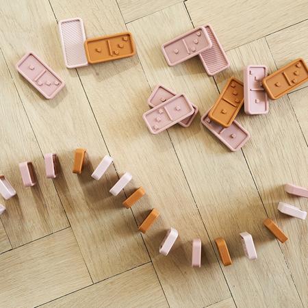 Immagine di Liewood® Domino in silicone Dodo Rose Multi Mix