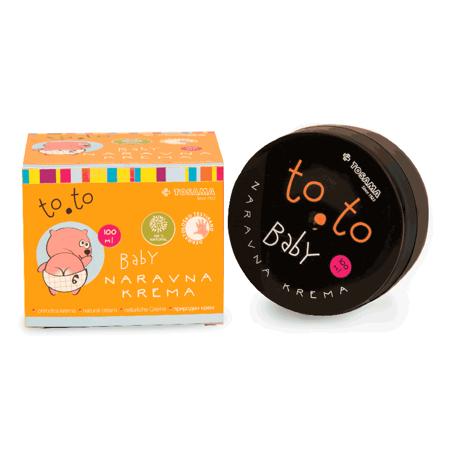 Immagine di Tosama® Crema naturale per bambini to.to100 ml