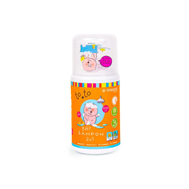 Immagine di Tosama® Shampoo per bambini to.to 2in1 500 ml