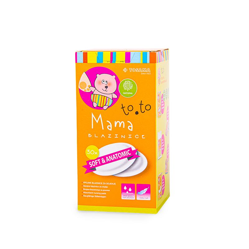 Immagine di Tosama® Assorbenti per l'allattamento to.to 30 pezzi