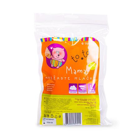 Tosama® Mutandine a rete to.to Large 5 pezzi