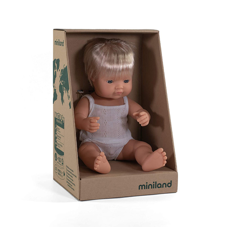 Miniland® Neonato European Boy 38cm