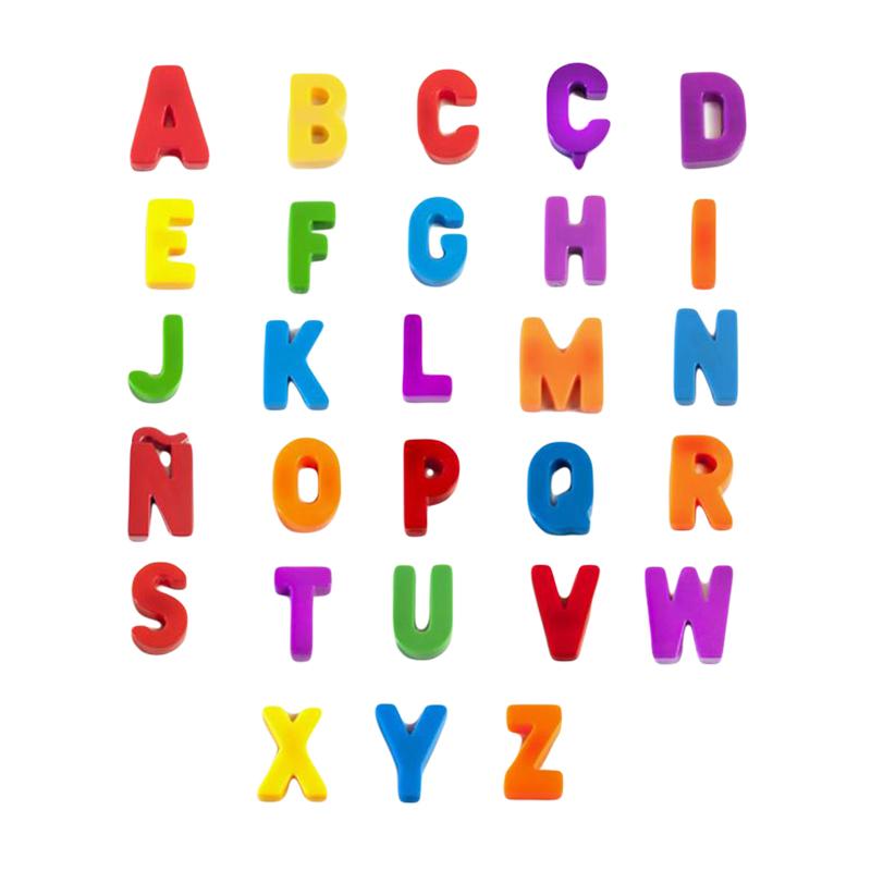 Immagine di Miniland® Lettere magnetiche 76 pezzi
