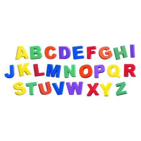 Immagine di Miniland® Lettere magnetiche Jumbo 74 pezzi