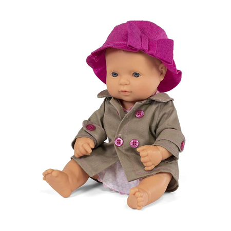 Immagine di Miniland® Bambola Mild Weather Hat Set 32cm