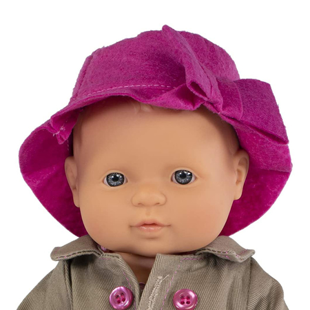Immagine di Miniland® Bambola Mild Weather Hat Set 32cm
