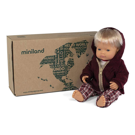 Miniland® Bambola Cold weather Trousers Set 38 cm