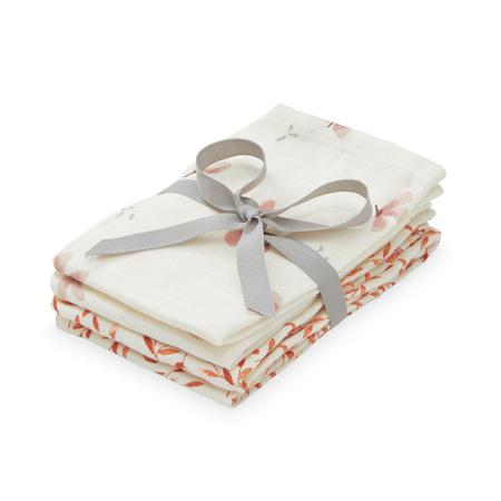 Immagine di CamCam® Set di pannolini tetra Mix Windflower Creme & Caramel Leaves 4 pezzi 30x30
