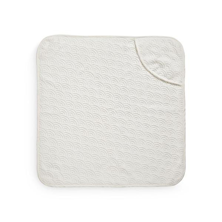Immagine di CamCam® Asciugamano con cappuccio Off White 80x80