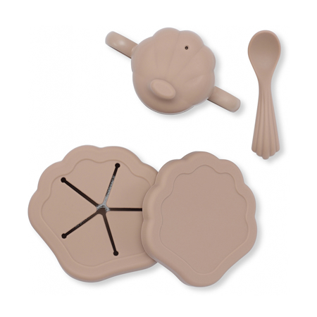 Immagine di Konges Sløjd® Set pappa in silicone Blush