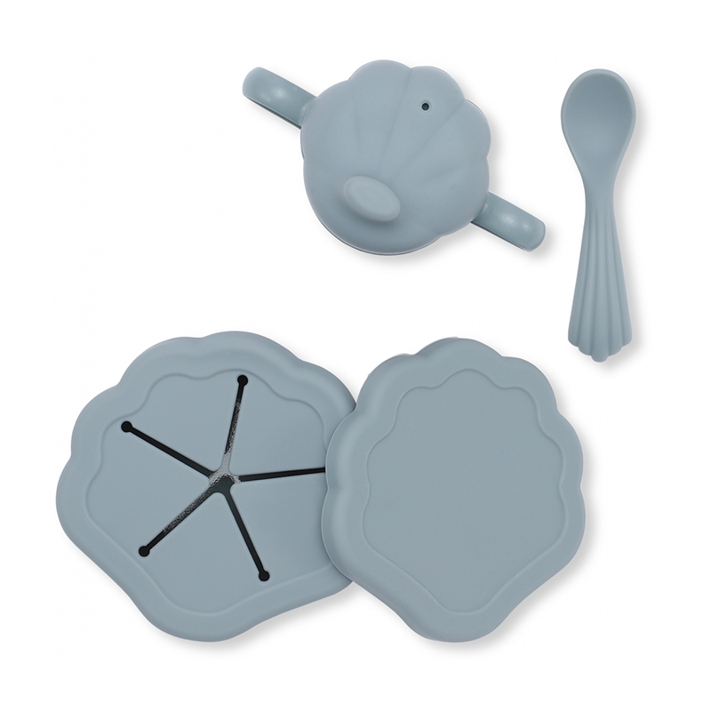 Immagine di Konges Sløjd® Set pappa in silicone  Light Blue