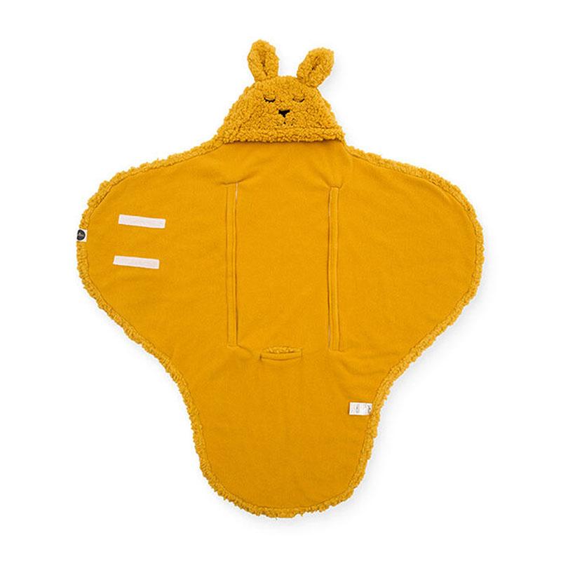 Immagine di Jollein® Jollein® Copertina per neonati Bunny Mustard 105x100