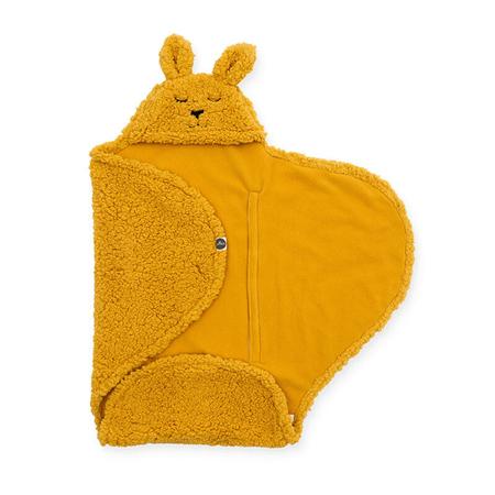 Jollein® Copertina per neonati Bunny Mustard 105x100