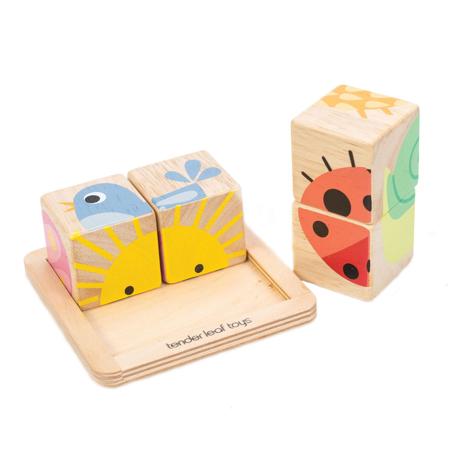 Tender Leaf Toys® Cubi in legno