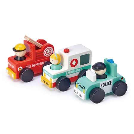 Immagine di Tender Leaf Toys® Emergency Vehicles