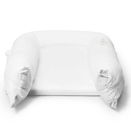 DockAtot® Riduttore nido Grand Pristine White (9-36m)