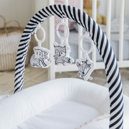 Immagine di DockAtot®Arco di attivita  Deluxe+ Black&White