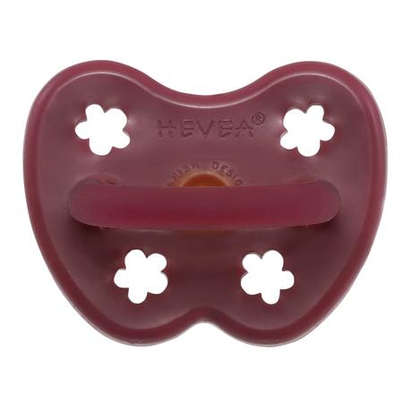 Hevea® Ciuccio ortodontico in caucciù Colourful (3-36m) Ruby