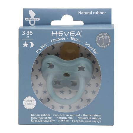 Immagine di Hevea® Ciuccio ortodontico in caucciù Colourful (3-36m) Winter Sky