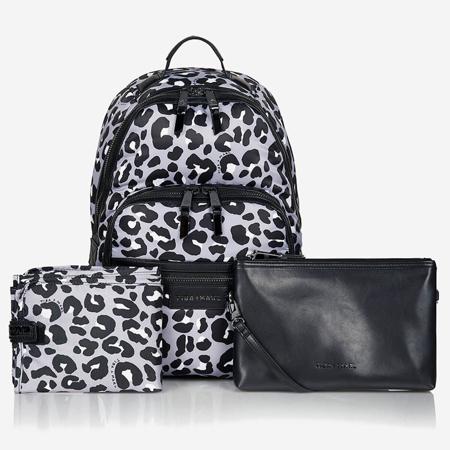 Tiba+Marl® Zaino fasciatoio Elwood Nylon Mono Leopard