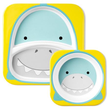 Immagine di Skip Hop® Due piattini Shark