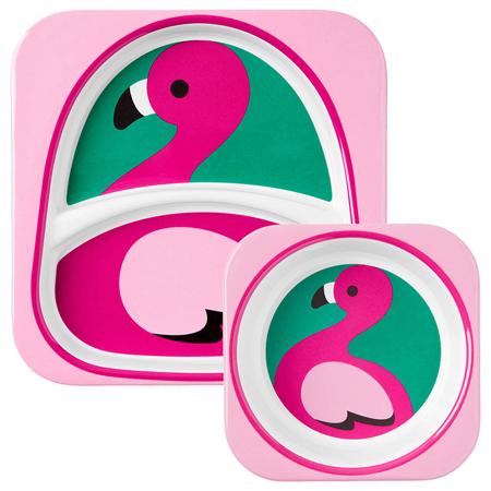 Immagine di Skip Hop® Due piattini Flamingo