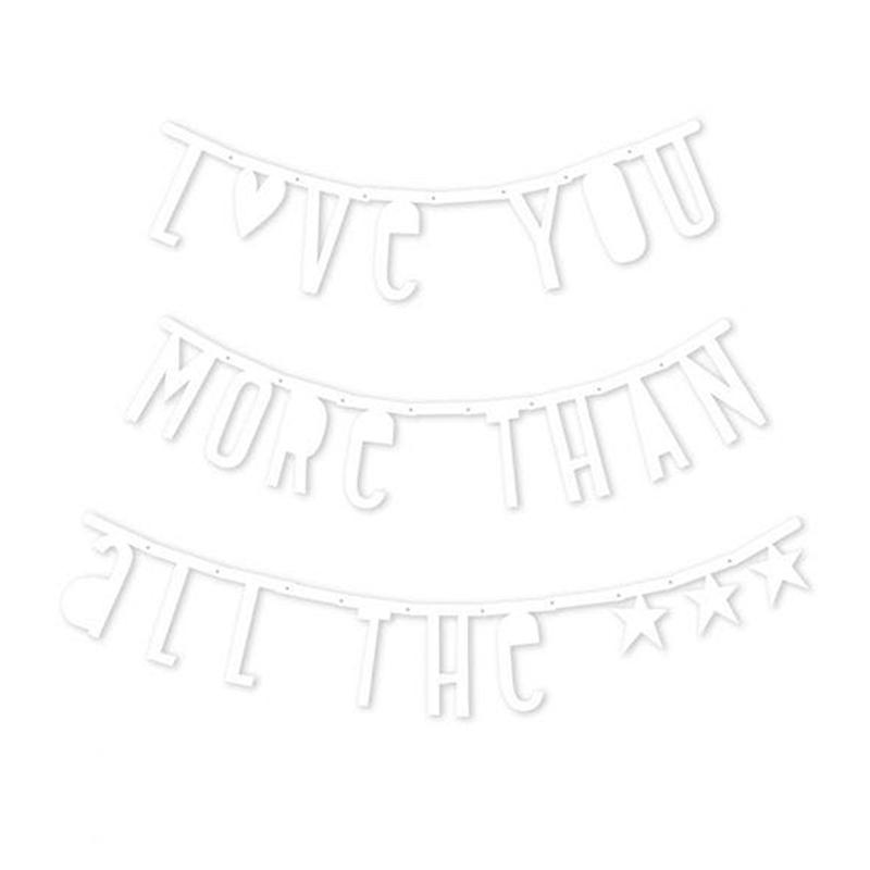 Immagine di ALLC® Lettere decorative colore Bianco