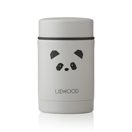 Immagine di Liewood® Termo contenitore Nadja Panda Light Grey 250ml