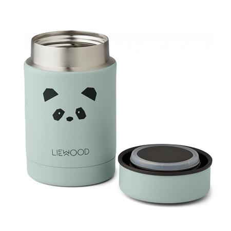 Liewood® Termo contenitore Nadja Panda Peppermint 250ml