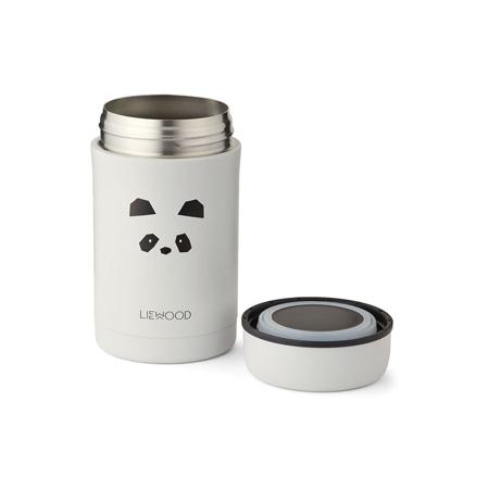 Liewood® Termo contenitore Bernard Light Grey 500ml